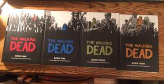 Walking Dead (hardcover) Volumes 1,2,3 and 4
