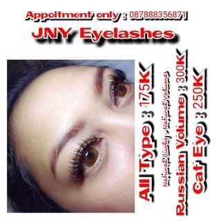 Eyelashes extantion