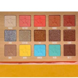 Jeffree Star 'Thirsty' Eyeshadow palette BRAND NEW & AUTHENTIC [PRICE IS FIRM, NO SWAPS] ARRIVING JUNE 26 WHILE STOCKS LAST