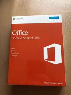 Microsoft Office Home & Student 2016 (fixed price) Windows