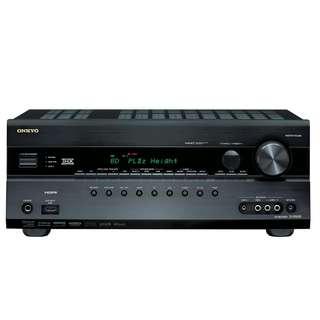 Onkyo TX-SR608 7.2-Channel Home Theater Receiver (Black)
