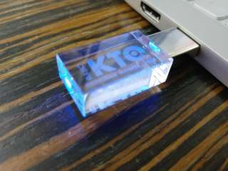 USB flash drive 16GB new with blue light