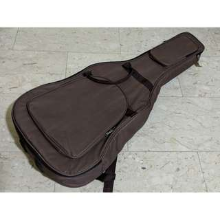 High quality Brown Padded Soft Case Bag for Acoustic or Classical Guitar for Protection Storage Comfortable Brand New