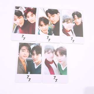 GOT7 7for7 present edition photocard