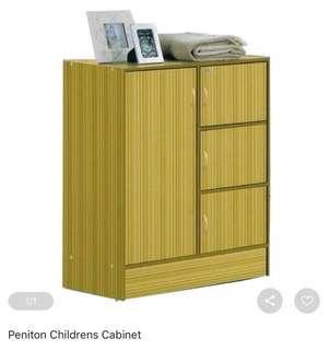 Peniton Children's Closet Cabinet
