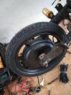 Ebike Motorhub 48v 200W