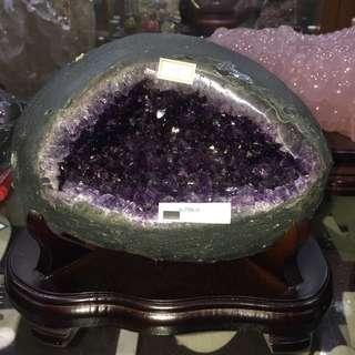 烏拉圭小晶洞4.7kg 貨物售出不能退換!!!採先匯款後再郵寄貨品到府