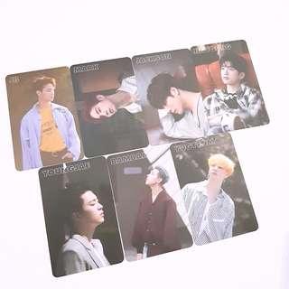 GOT7 7th mini album 7for7 photocard