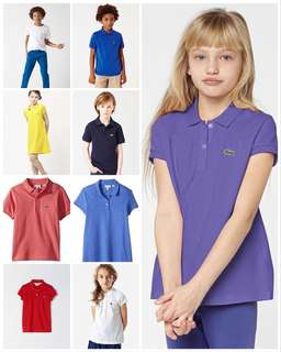 lacoste polo shirt for kids