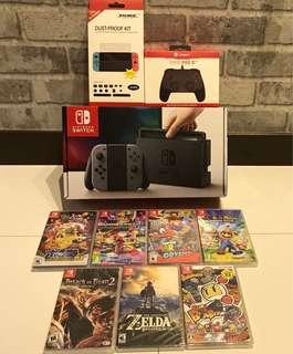 [NEW] Nintendo Switch + 1 Game Hari Raya Special Bundle