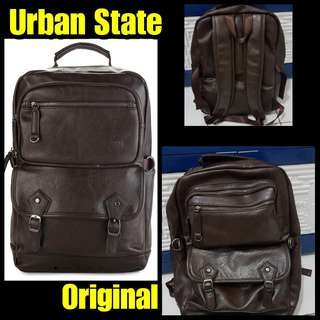 Backpack Urban State ORIGINAL PU Faux Seken Fullset Nominus