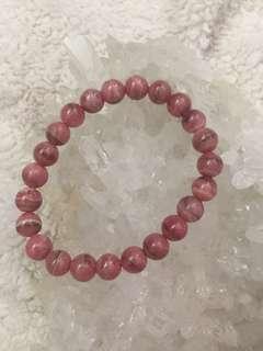 ❗️清貨❗️天然紅紋石手鍊