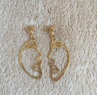 Earrings 2 (half face)