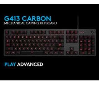 Logitech G413 Carbon Romer-G 機械鍵盤