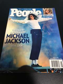 People magazine Michael Jackson tribute