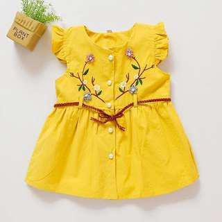 Korea Design Baby Girl Flower Dress