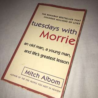 Mitch Albom — Tuesdays With Morrie