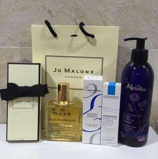 🚚 Jo Malone 香水、理膚寶水、Caudalie 、Embryolisse 、nuxe .melvita
