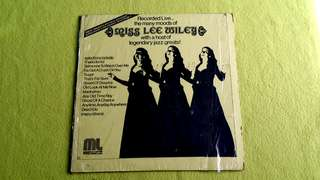 MISS LEE WILEY . the many moods of ( with a host of legendary jazz great ! ) vinyl record