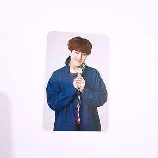 GOT7 Yugyeom lightstick Photocard official