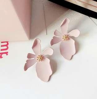 Korean Petal Earrings