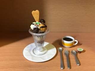 Re-ment 食玩 3點 下午茶#8 咖啡+雪糕