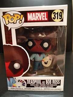 Funko Pop Deadpool as Bob Ross