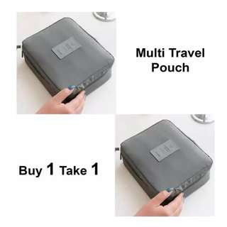 Buy 1 Take 1 Make Up Travel Pouch Organizer