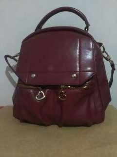 Leather Korean Bag