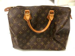 Authentic Louis Vuitton Monogram Vintage Speedy 30
