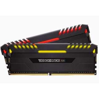 Corsair 2666MHz 16GB (2 x 8GB) Vengeance® RGB DDR4 DRAM