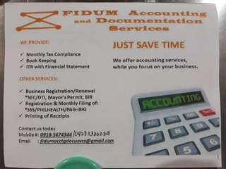 Accounting & Documentation Services