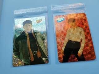 20張 吳奇隆 yes卡 閃卡 90年代 歌手 名星 yes card
