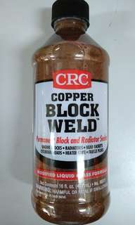 CRC Copper Block Weld