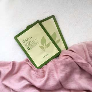 Tony Moly- Chok Chok Green Tea Sheet Mask