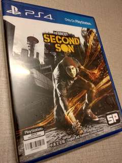 Infamous : Second Son PS4