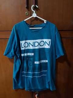 Baju biru/blue keren london