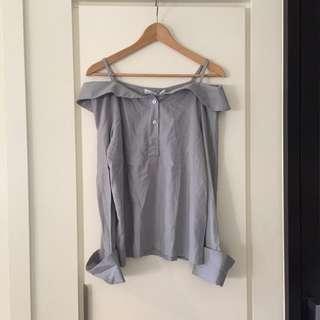 Off shoulder shirt / blouse