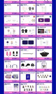 [CLOSED] TWICE TWICELAND FANTASY PARK OFFICIAL MERCHANDISE
