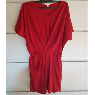 Magnolia Loose Red Dress