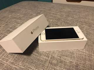 iPhone 6 Gold 64GB Unlocked with box