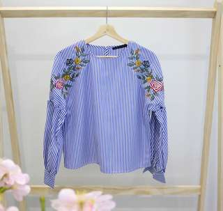 Pretty Embroidery Blouse