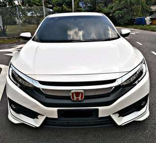 SAMBUNG BAYAR/CONTINUE LOAN  HONDA CIVIC FC TCP 1.5 TURBO HIGHSPEC YEAR 2016 MONTHLY RM 1380 BALANCE 7 YEARS 5 MONTHS ROADTAX AUG 2018 PADDLE SHIFT  PUSH START BUTTON KEYLESS  TOUCH SCREEN RADIO  DP KLIK wasap.my/60133524312/fc