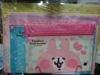 P助與兔兔kanahei 多用途拉鍊袋