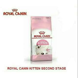 New Sealed Royal Canin Second Age Kitten Cat Dry Food