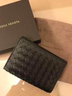 Bottega veneta 名片夾 BV cars case 男 黑色  長11cm  寬8cm