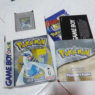 Pokémon Silver gbc gameboy
