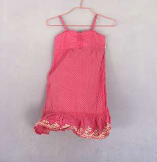 Shocking Pink Summer Party Dress