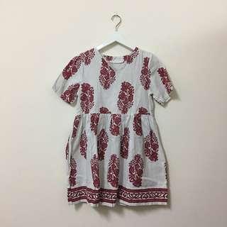 波希米亞風洋裝