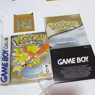 Pokémon Gold gbc gameboy